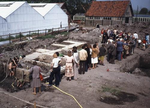 Opgraving kasteel Keenenburg