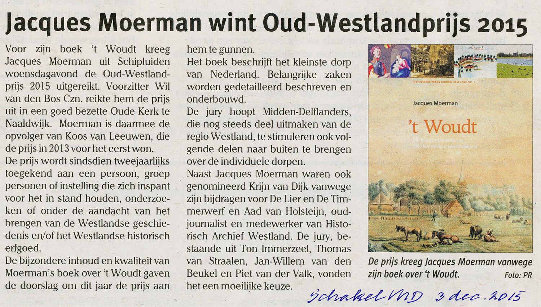 JacquesMoermanOudWestlandPrijs