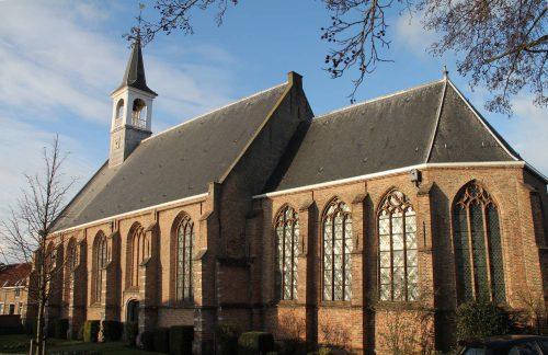 De Dorpskerk van Schipluiden. Foto auteur.